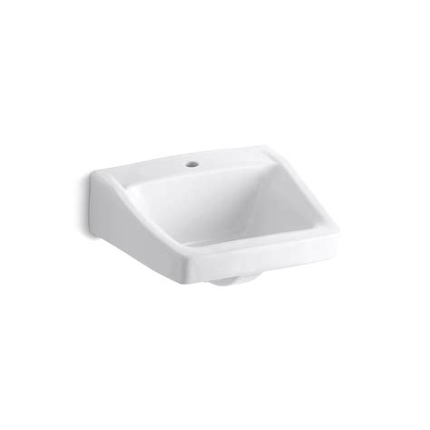 home depot wall mount sink kohler greenwich wall mounted vitreous china bathroom sink