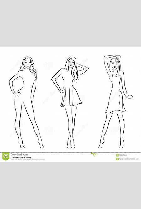 Three Elegant Fashion Models Stock Images - Image: 35017364