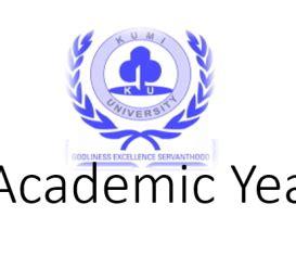 kumi university godliness exellence servanthood