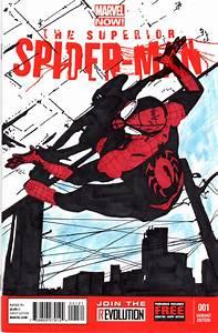 Superior Spider-Man Sketch Cover by skyscraper48 on DeviantArt