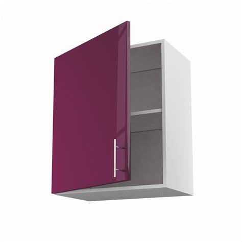 meuble haut cuisine leroy merlin meuble de cuisine haut violet 1 porte h70xl60xp35 cm