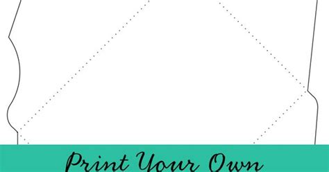 feathered nest printable envelope template