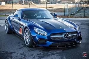 Mercedes Amg Gt S : prior design mercedes amg gt s gets vossen wheels ~ Melissatoandfro.com Idées de Décoration