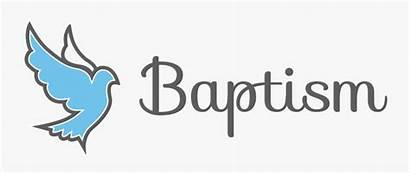 Baptism Clipart Calligraphy Text Transparent Clipartkey