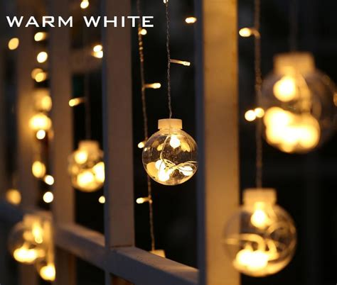 Window Lights by 3m 120 Led Lights Indoor Curtain String
