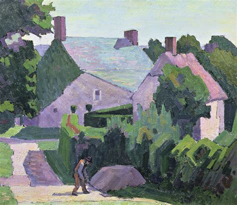 the cottage painting helena bonett in these farms if anywhere one
