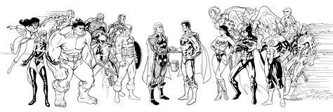 justice league avengers by e v4ne on deviantart