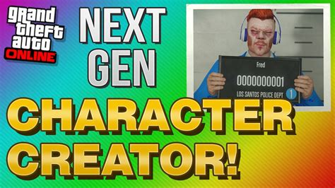 New Character Creator! (gta 5 Xbox One