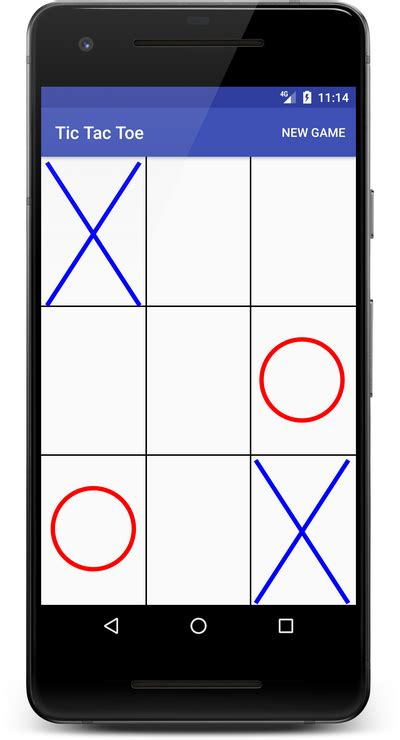 learn  create  tic tac toe game  android androidpub