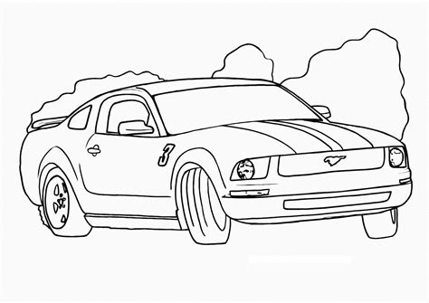 printable race car coloring pages  kids