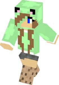 Cookie Girl Minecraft Skin