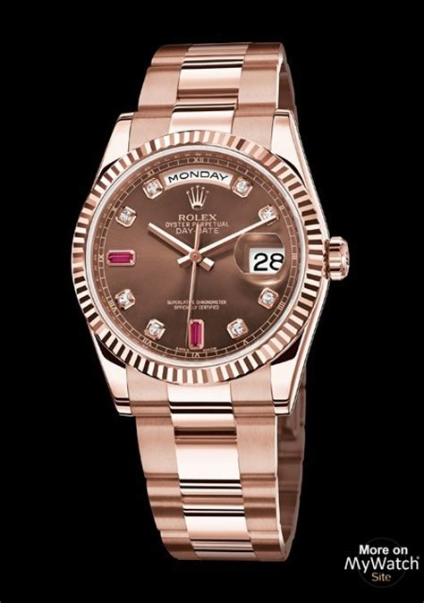 rolex day date  everose oyster perpetual