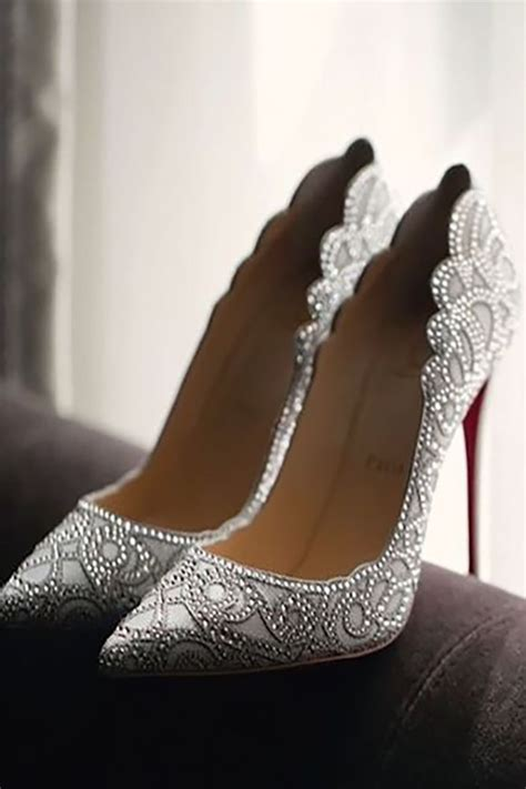 30 Officially The Most Gorgeous Bridal Shoes When I Say