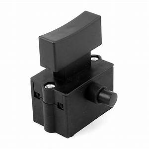 Ac 250v 12a Electric Power Tool Lock Dpst Trigger Switch