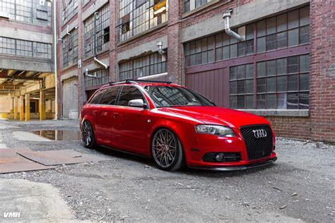audi   red vmr wheels