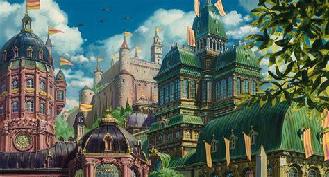 Anime Kingdom Wallpaper - howl s moving castle wallpapers hq howl s moving