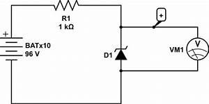 voltmeter how to test high voltage zener diodes with With zener diode tester