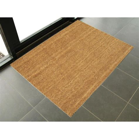 Indoor Door Mats by Coir Pvc Backed Recommended As A Recessed Mats Heavy