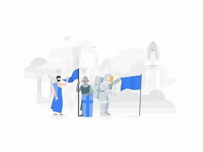 Things Illustration Dribbble Google Javascript Enabled