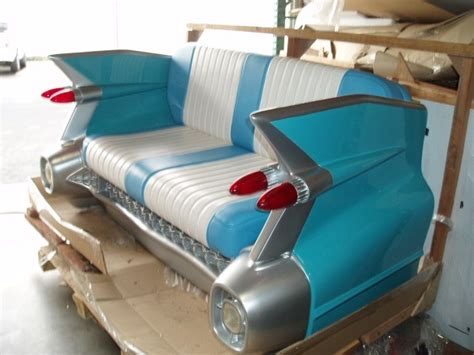 Settee Ship by Cadillac Sofa 1959 Cadillac Car Sofa Retro Seat