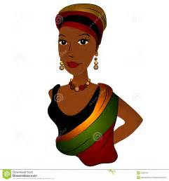 African American Woman Cartoon