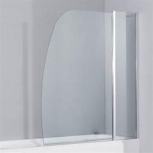 Pare Baignoire 60 Cm : pare baignoire 120 cm transparent cordue ~ Dailycaller-alerts.com Idées de Décoration