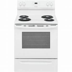 Frigidaire 30 In  5 3 Cu  Ft  Electric Range With Manual