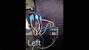 Curt  56146 Trailer Wiring Harness Installation On Saab 9-3 Linear 2003