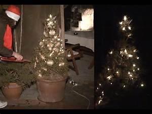 Lichterkette Weihnachtsbaum Anbringen : baum schm cken weihnachtsbaum selber schm cken tannenbaum au en schm cken lichterkette youtube ~ Markanthonyermac.com Haus und Dekorationen