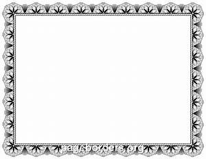 Free certificate border clipart - Clipart Collection ...