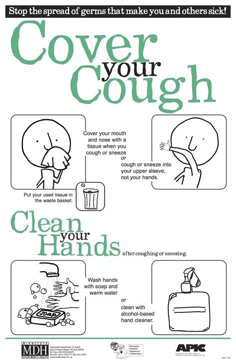 Cover Your Cough Keep Kids Healthy