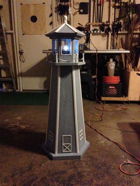 Garden lighthouse by plantek lumberjocks com woodworking community. Lighthouse Woodworking Plans Free Plans DIY Free Download train toy box plans | Home furniture ...