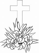 Cross Coloring Pages Easter Printable Crosses Printables Drawing Sheets Flowers Bestcoloringpagesforkids Flower Cute Getcoloringpages Getdrawings Popular Christian Roses sketch template