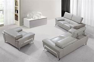 grey leather sofa set modern leather sofa set thesofa With sofa sets and couches
