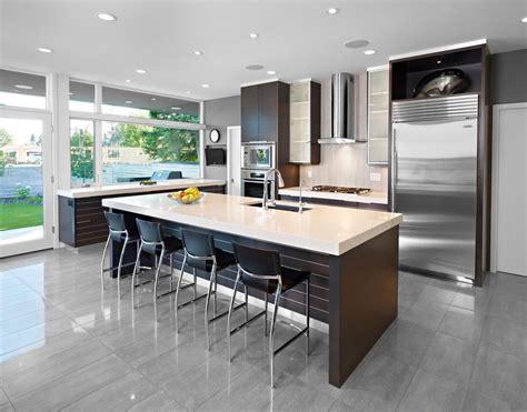 image cuisine ouverte sur salon cuisine cuisine ouverte sur salon avec marron couleur