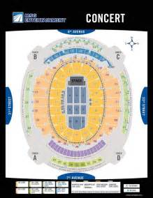 Square Garden Basketball Seating Chart Seating Square Garden New York City Msg