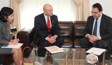 ladari marche la tunisie est un partenaire important pour le japon sur