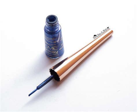 lakme fantasy shimmer eyeliner glimmer blue review