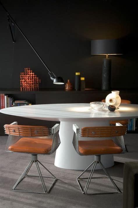 table de cuisine blanche la plus originale table de cuisine ronde en 56 photos