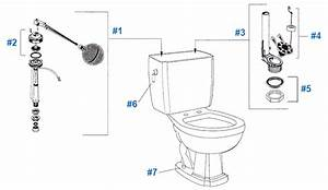 American Standard Toilet Repair Parts For Repertoire