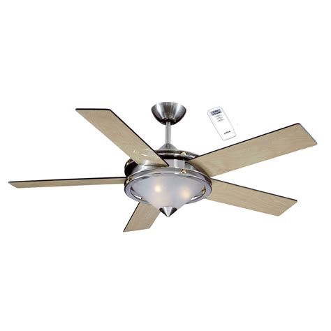 kmart outdoor ceiling fans litex industries 52 quot ceiling fan brushed nickel