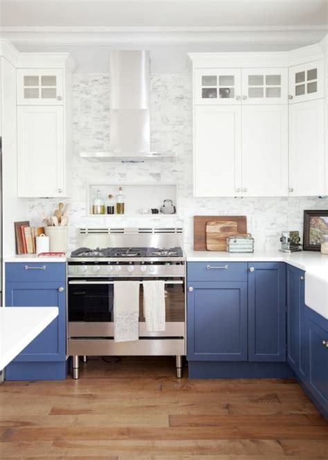 cuisine bleu canard 1001 idées pour une cuisine bleu canard les intérieurs