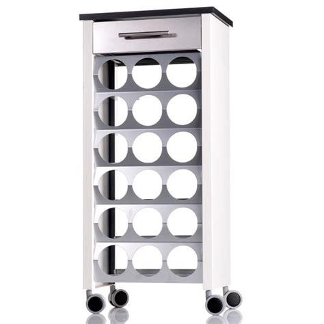 meuble de cuisine pour four encastrable range bouteilles sur roulettes