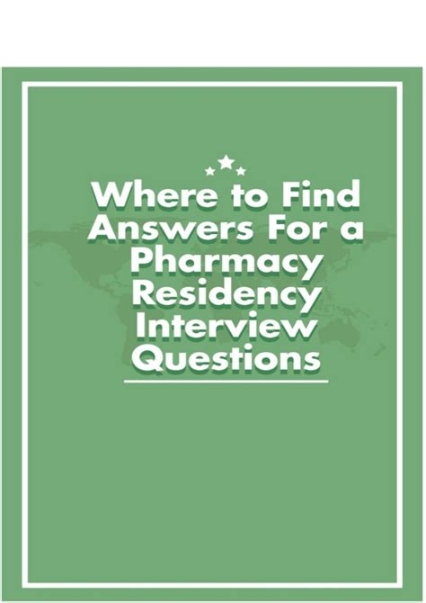 Find A Pharmacy by Where To Find An Answers For A Pharmacy Residency