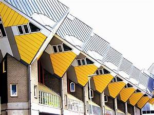 Rotterdam Cube Houses On Stilts  U00b7 Free Photo On Pixabay