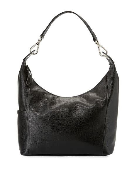 longchamp le foulonne small hobo bag black neiman marcus