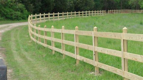 3 Rail Wood Fence Elite Fencing