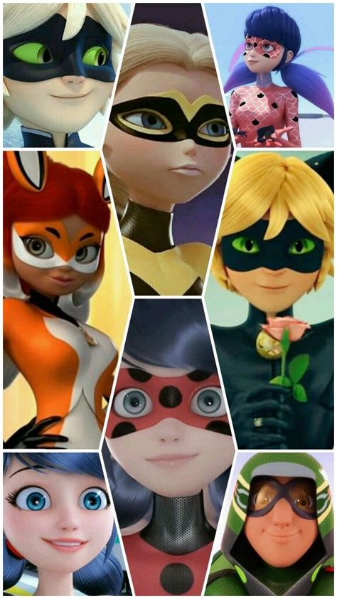 miraculous aesthetic collage