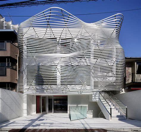 Amano Design Transforms Tokyo Office With Contorted Façade