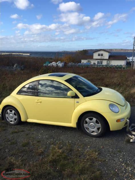 2000 Volkswagen Beetle 1 8 Turbo 2000 vw beetle 1 8 turbo standard cbs newfoundland